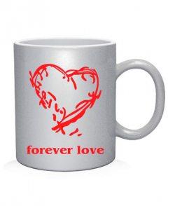 Чашка арт Forever love (для него)