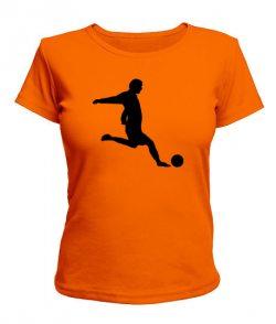 Женская футболка Footboll