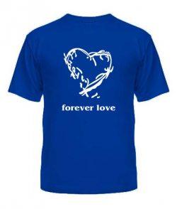 Мужская футболка Forever love