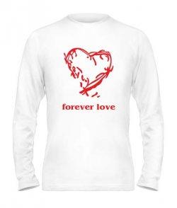 Мужской лонгслив Forever love
