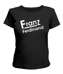 Женская футболка Franz Ferdinand