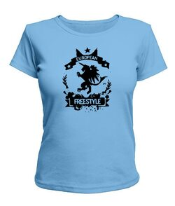 Женская футболка Вольный стиль