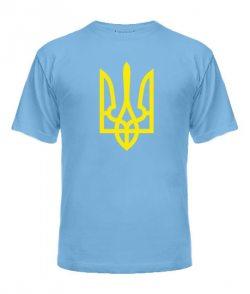 Мужская Футболка Герб Украины Вариант №10