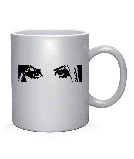 Чашка арт Глаза