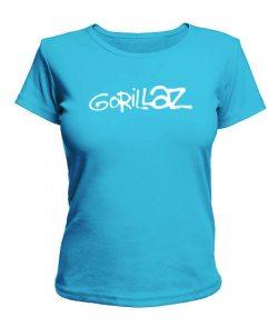 Женская футболка Gorillaz