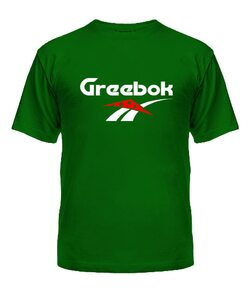 Мужская Футболка Greebok