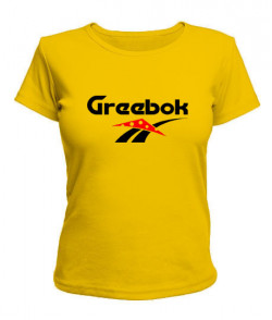 Женская футболка Greebok