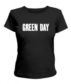 Женская футболка Green Day