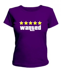 Женская футболка GTA5 Вариант 2
