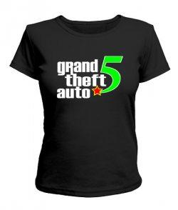 Женская футболка GTA5 Вариант 3