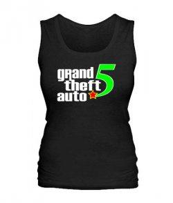 Женская майка GTA5 Вариант 3
