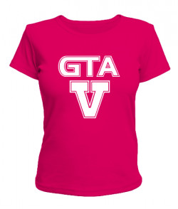 Женская футболка GTA5 Вариант 4