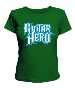 Женская футболка Guitar hero