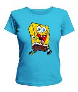 Женская футболка Спанч Боб Вариант №2