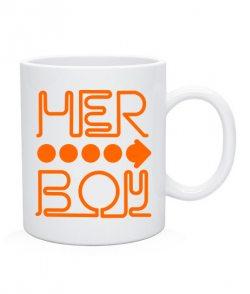 Чашка Her boy and his girl (для него)