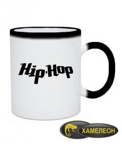 Чашка хамелеон I love hip-hop