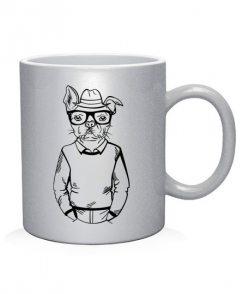 Чашка арт Хипстер-DOG №4