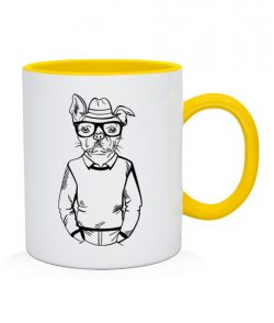 Чашка Хипстер-DOG №4