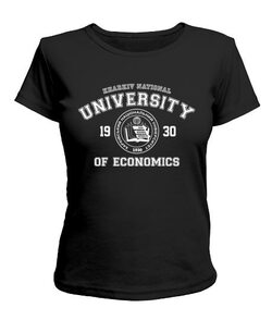 Женская футболка ХНЭУ
