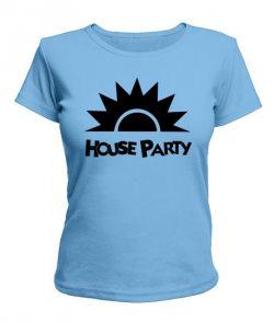 Женская футболка House party