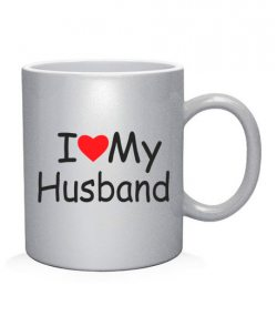 Чашка арт I Love My HW (для нее)