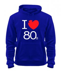 Толстовка I love 80s