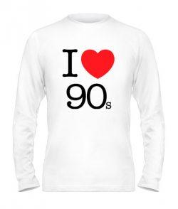 Мужской Лонгслив I love 90s