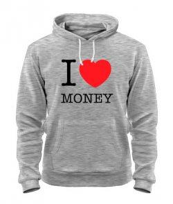 Толстовка I love money