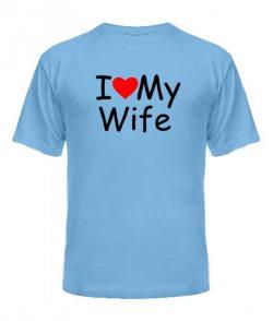 Мужская футболка I Love My HW