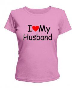Женская футболка I Love My HW