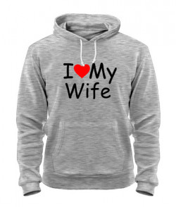Толстовка I Love My HW (для него)