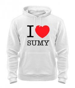 Толстовка I love Sumy