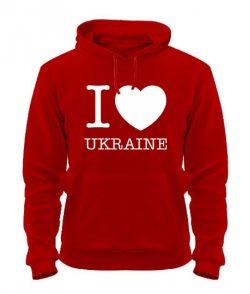 Толстовка I love Ukraine