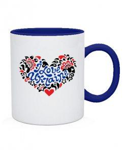 Чашка I love Ukraine Вариант №2