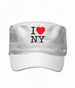 Кепка милитари I love NY