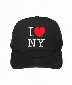 Кепка тракер I love NY