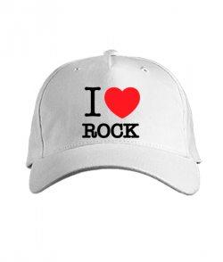 Кепка классик I love rock