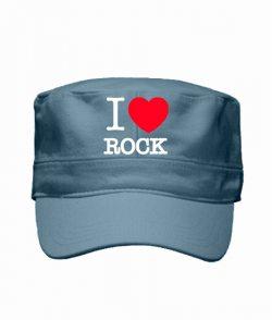 Кепка милитари I love rock