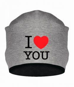 Шапка I love you-Вариант 2