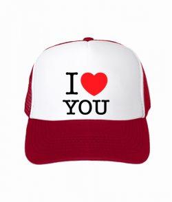 Кепка тракер I love you-Вариант 2
