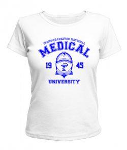 Женская футболка ИФНМУ