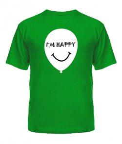 Мужская футболка Шарики