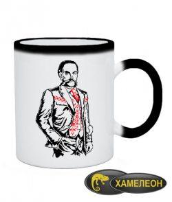 Чашка хамелеон Иван Мазепа