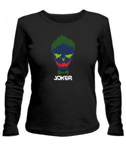 Женский лонгслив Suicide Squad Joker