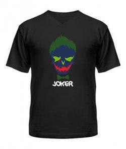 Мужская Футболка с V-образным вырезом Suicide Squad Joker