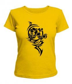 Женская футболка Бодибилдер №1