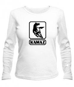 Женский лонгслив Камаз (Kamaz)