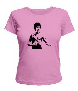 Женская футболка Брюс Ли