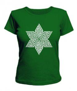 Женская футболка Кельтский узор Вариант №4