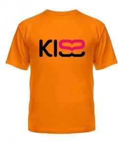 Мужская Футболка KISS2